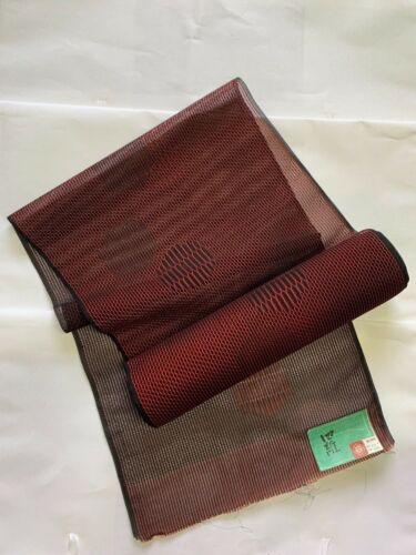 BEAUTIFUL ANTIQUE JAPANESE BOLT FOR ROKUSUN OBI, VINTAGE CRAFT MATERIAL