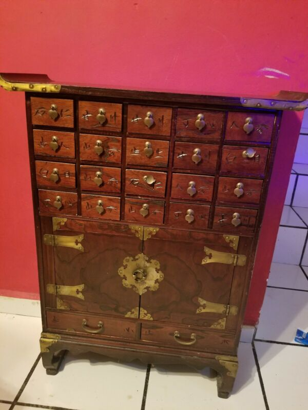 CHINESE APOTHECARY CABINET  20 DRAWERS