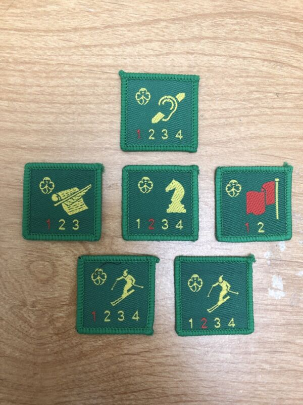 old brownie badges