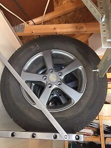 Snow tires with rims 235/70R16 Michelin X-Ice fits Honda Pilot