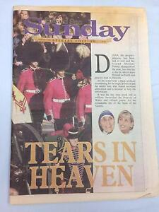 Princess Diana  Special Edition Newspaper Chelsea Kingston Area Preview