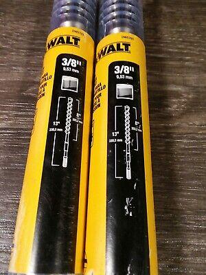 New Dewalt Dw5701 38 X 8 X 13 2-cutter Spline Shank Rotary Hammer Bit