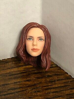 "Black Widow Head Marvel Legends 6"" Series"