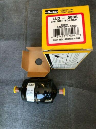 Parker LLD-083S Liquid Line Filter Drier 3/8 ODF Solder