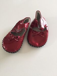 Pediped Toddler Girl Red Shoes