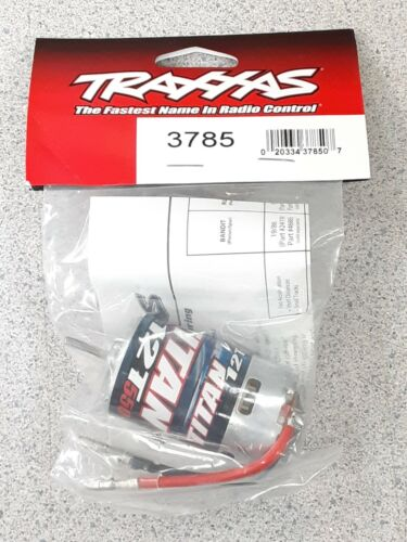 Traxxas 3785 Titan 550 Size Motor (12T) Brand New!!