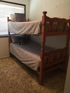 Kids wooden bunk beds Golden Beach Caloundra Area Preview