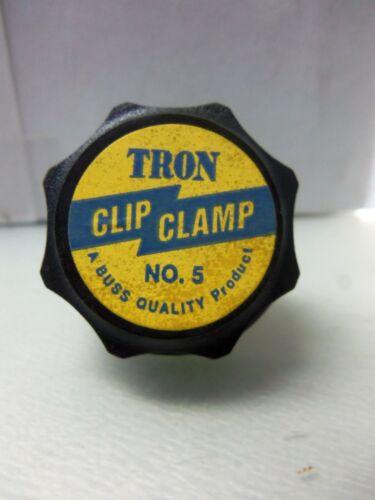 New Tron No.5 Fuse Clip Clamp 60-100 Amp 250/600 Vac