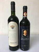 Refosco Antonutti 1998 / Fattoria Del Cerro Vino Nobile Di Montepulciano 1985 -  - ebay.it