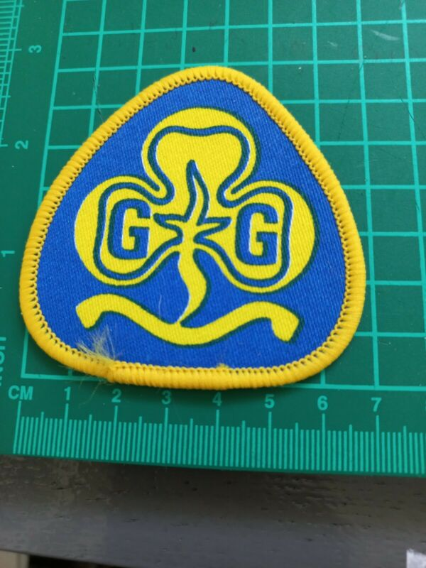 Girl Guides Large Logo Patch Badge