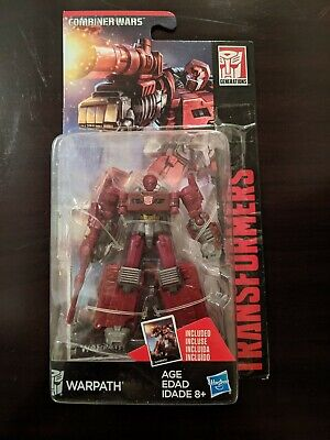 Transformers Combiner Wars Legends Warpath Official Hasbro US Release NEW SEALED