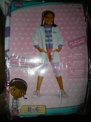 Doc Mcstuffins Deluxe Costume (Disney Doc McStuffins Deluxe Girls Costume Size)