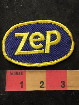 Vtg ZEP Advertising Patch (Cleaning Products In Food & Beverage Industry) 89XB