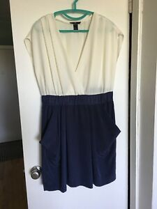 H&M short poly dress