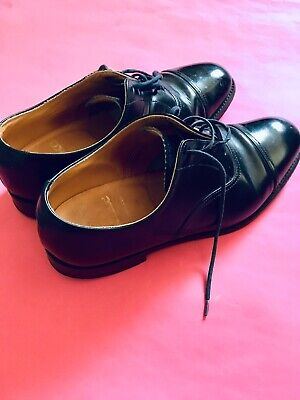 LOAKE 747B  ALL LEATHER WELTED OXFORD TOE CAP  BLACK SHOES  UK SIZE 5.5 for sale  Shipping to Nigeria