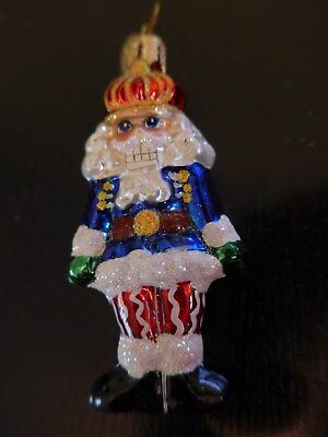 Christopher Radko Ornament Gem Cookie Cracker 0107780 Nutcracker