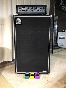 Ashdown evo iii 500 amp + ampeg svt 610 hlf + 3 bass effects pedals Redland Bay Redland Area Preview