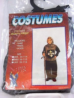 Size Large Medieval Knight Halloween Costume School Party Play Trick o Treat