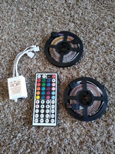 Smart LED Strip Lights Music Sync Control Color Changing 32.
