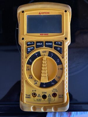 Amprobe Hd160c Heavy Duty Trms Multimeter With Temperature