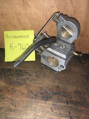 Husqvarna K760 Cutoff Saw Carburetor Zama El43b Used.