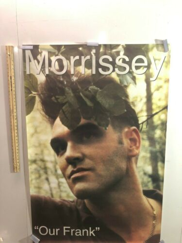 HUGE SUBWAY POSTER Morrissey OUR FRANK Promotional SMITHS 1991 PROMO ALBUM RARE