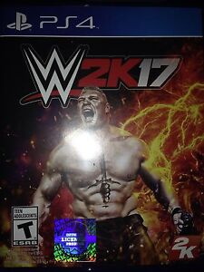 Wwe 2k17 played once