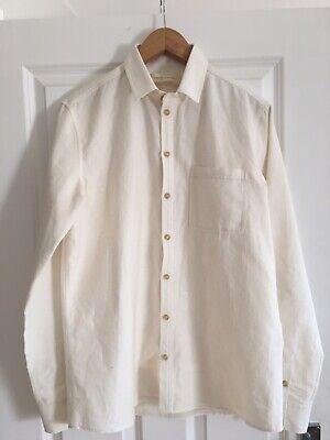 King & Tuckfield Mens White Shirt. Size L