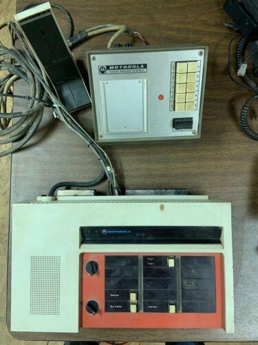 Vintage Motorola Radio Paging System