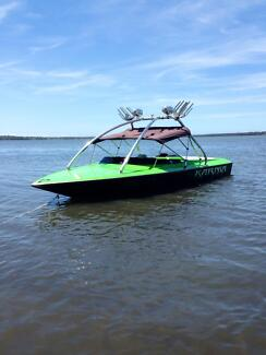 Camero Nordic pro skier ski boat and trailer Mangrove Mountain Gosford Area Preview