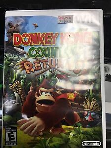 Donkey Kong country returns pour console Nintendo wii