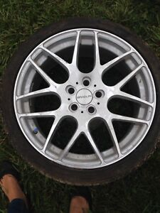 A5 Audi Rims with Tires 255 35Z R19 set of 4