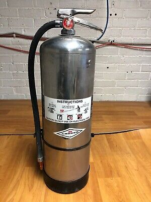 Amerex Pressurized Water Fire Extinguisher - Hydrotested Serviced - Lk