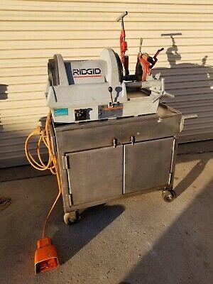 Ridgid Model 1822-1 Nice 12 Inch - 2 Inch Power Threading Machine