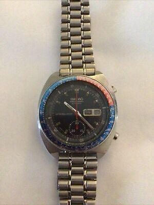 seiko chronograph watch 6139-6000