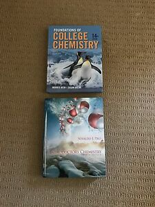 Chemistry Textbooks - Foundations of College Chem - Introductory Chem Valentine Lake Macquarie Area Preview