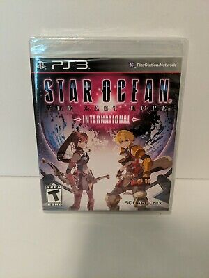 Star Ocean: The Last Hope International (Sony PS3) Factory Sealed