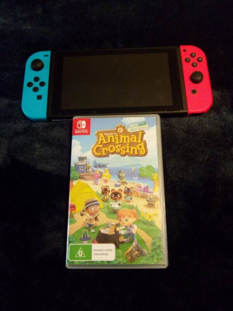 animal crossing switch console australia