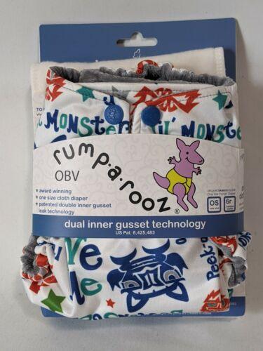 Kanga Care Rumparooz OBV One Size Cloth Diaper Waterproof and Breathable