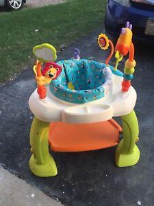 Nice  Activity for children Standing practice saucers