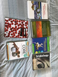 Variety of health Science textbooks