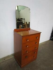 C37080 Vintage RETRO Dressing Table Chest of Drawers Mount Barker Mount Barker Area Preview