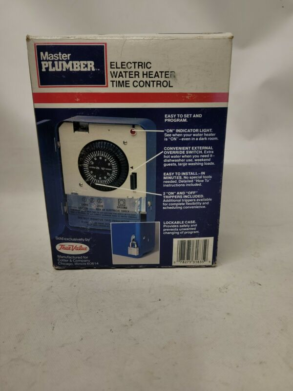 Intermatic 318352 Electric Water Heater Timer Control 25a 250v Blue CPB #920A