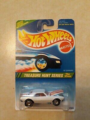 Hot Wheels CUSTOM '67 CAMARO Clone 1995 Treasure Hunt Real Riders HO Limited!