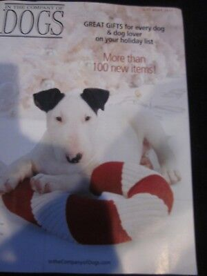 IN THE COMPANY OF DOGS CATALOG GIFT BOOK 2017 CHRISTIAN, BULL TERRIER BRAND NEW