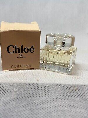 CHLOE Perfume Eau De Parfum EDP Splash Deluxe Mini 0.17oz 5 ml