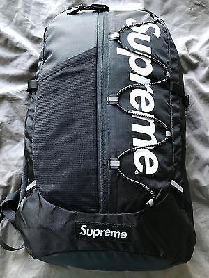 2017 Supreme black cordura backpack NEW - UNUSED
