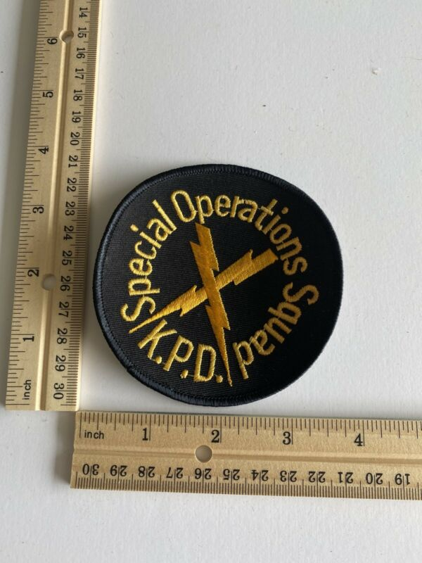 Knoxville Police Special Operations Squad Patch