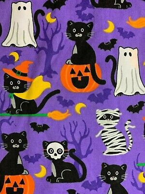 Cat Nurse Costume (SCRUB TOP SIZES: S, M, L, XL, 2XL HALLOWEEN COSTUME KITTY CATS NWT NURSE)