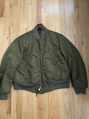 Engineered Garments Aviator Jacket Small S M military Coat Orslow $528